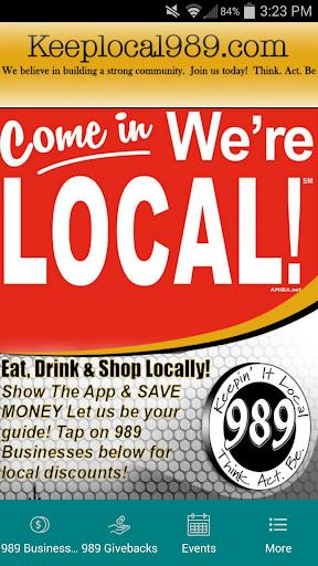 Keep It Local 989
