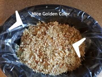 8 Layer Kickin Chicken Crock-pot Casserole