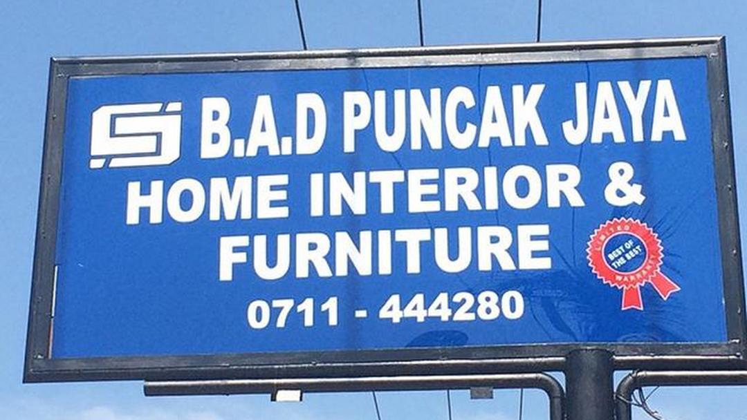 B A D Puncak Jaya Millwork Shop