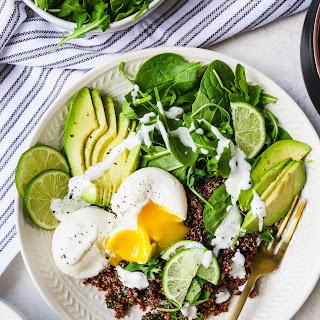 Meal Prep Quinoa & Greens Bowls with Eggs Recipe