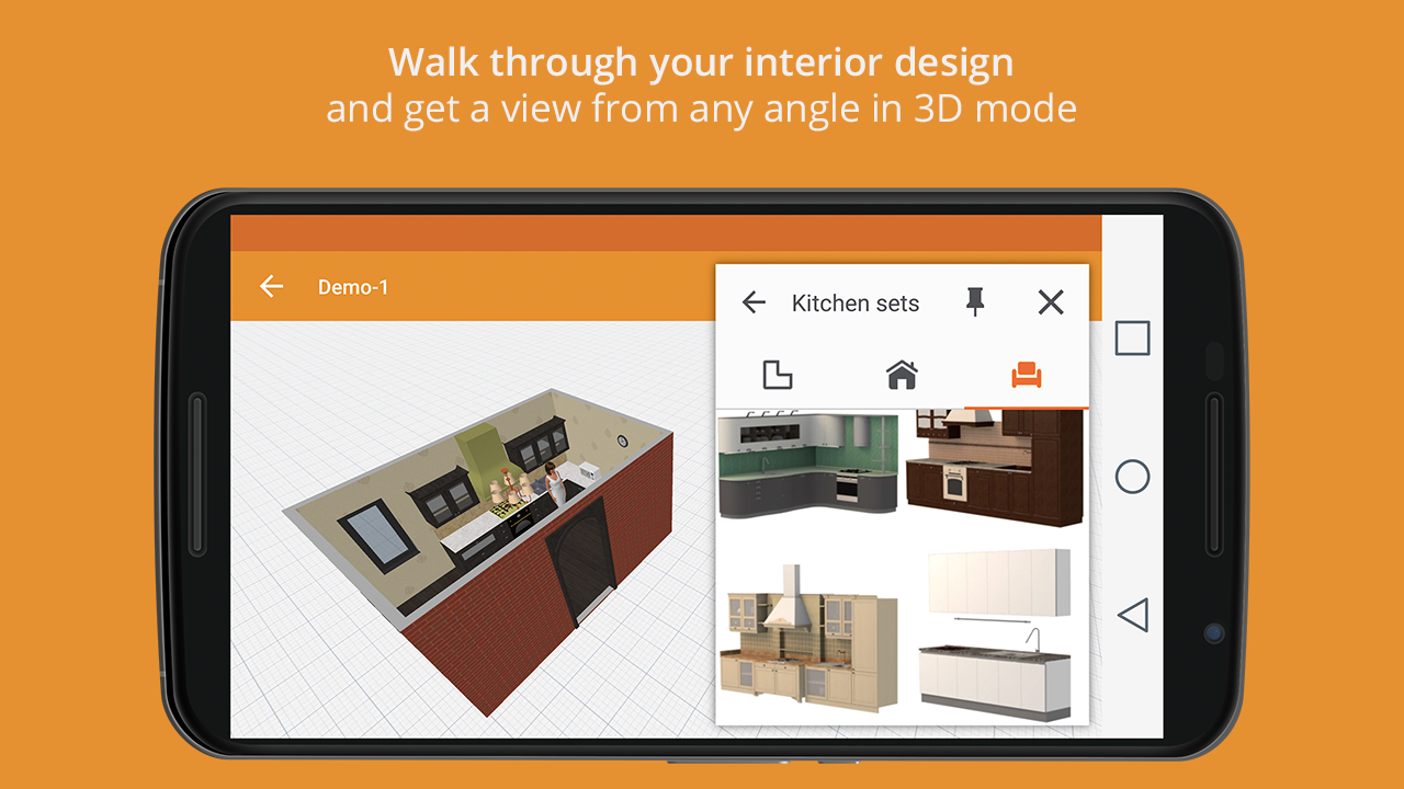 Kitchen Design- screenshot