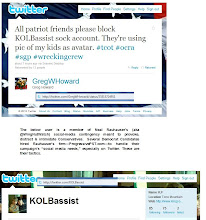 Photo: User http:twitter.com/KOLBassist was organized by Neal Rauhauser of http://progressivepst.com and http://dailykos.com  Statement by Greg W Howard http://twitter.com/gregwhoward/status/25525724911