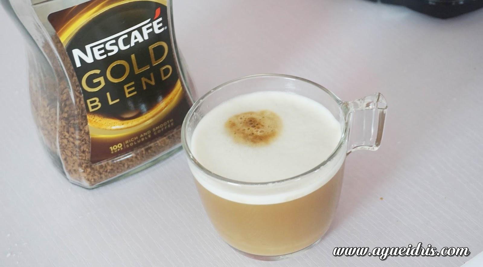 Nescafe Gold Barista Coffee Machine cara guna harga (26).JPG