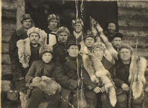 Photo: Слет охотников-промысловиков 36-37 годы.