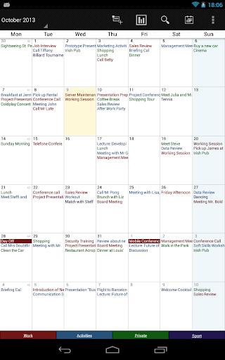 Business Calendar Beta screenshot 17