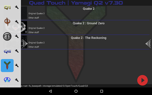 Screenshot for Quad Touch in United States Play Store