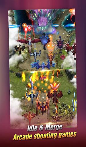 Dragon Epic - Idle & Merge - Arcade shooting game screenshots 4
