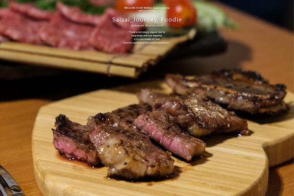 覓燒肉 以往沒吃過的肉品,都在這邊吃到了!厚切松板豬、澳洲和牛橫隔膜,推薦必點!