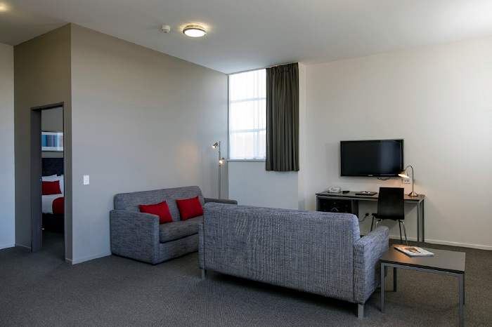 living space at Quest New Plymouth