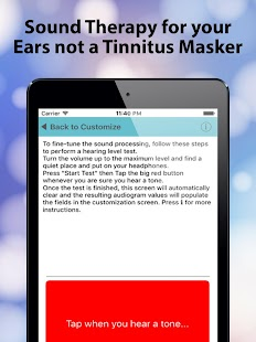 Tinnitus Alleviator- screenshot thumbnail
