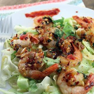 Black Pepper Shrimp Stir Fry.