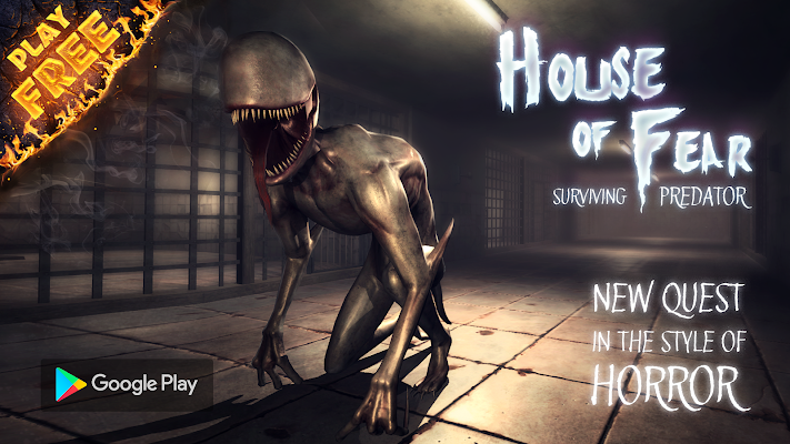 House of Fear: Surviving Predator PRO Screenshot Image