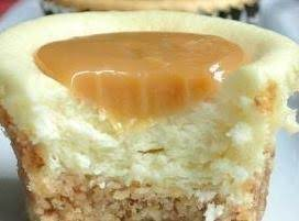 Gluten-Free Caramel Cheesecakes