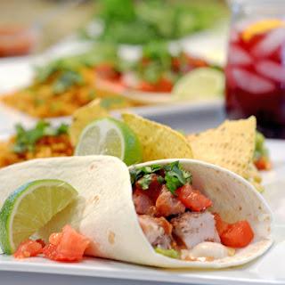 Tacos de cerdo sorbrantes (Leftover Pork Tacos).