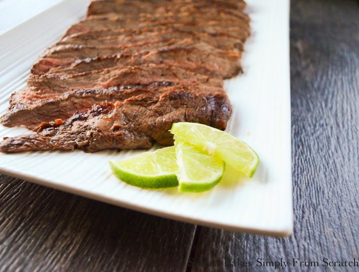 Marinated Carne Asada Recipe