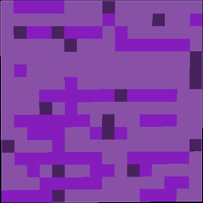 It is purple