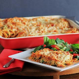 Baked Cheesy Spaghetti