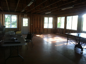 Photo: Upstairs of the Dining Hall.