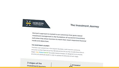 Horizon Investments - Goals-Based Investing - Discover Us