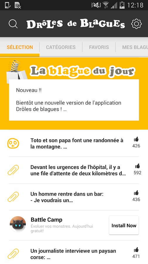 Extrêmement Blagues - Drôles de blagues - Android Apps on Google Play NM26