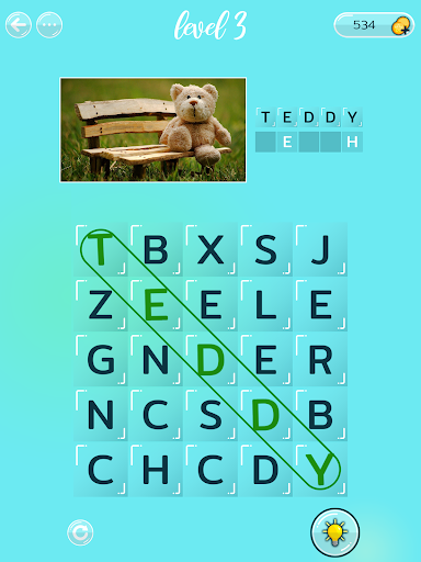 Word Search Puzzles with Pictures free 0.3.1 screenshots 9