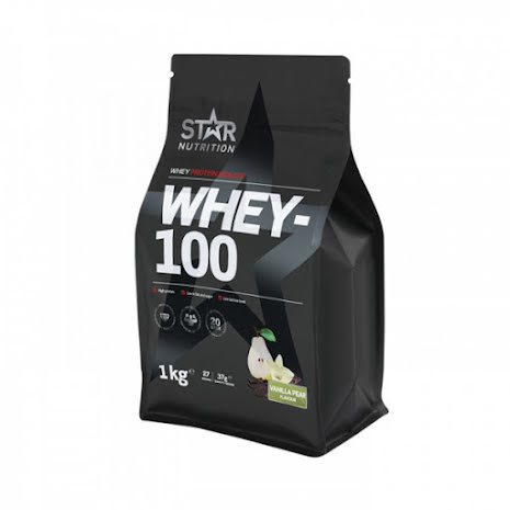 Star Nutrition Whey-100 1kg - Vanilla Pear
