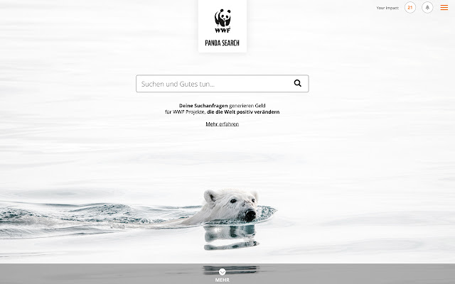 WWF Panda Search