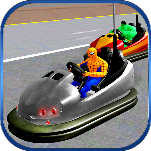 Super Hero Bumper Cars Crash Course Android APK Download Free By MobilePlus