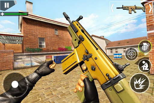 Police Counter Terrorist Shooting - FPS Strike War android2mod screenshots 2