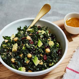 Crunchy Kale Salad with Blood Orange Vinaigrette
