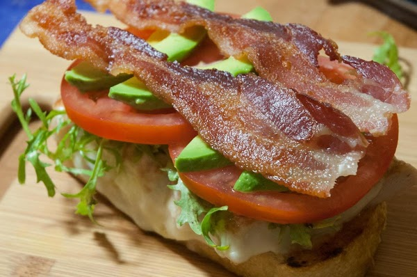 Add the bacon.