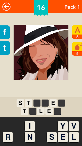 Celebrity Quiz ~ Logo Game