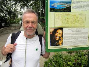 Photo: Lasse Jamaikalla, tässä Bob Marleyn seurassa