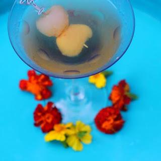 Delicious Lychee Martini