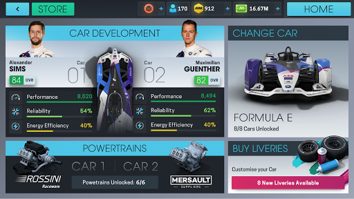 Motorsport Manager Online apklade screenshots 1