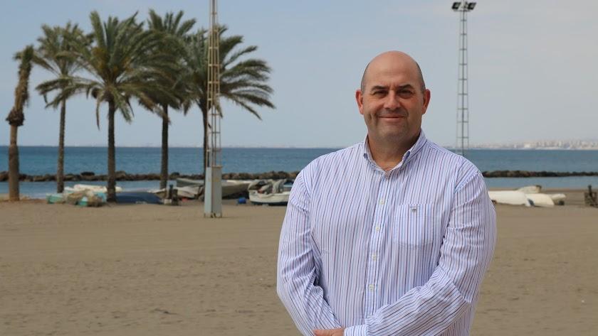 Francisco Javier Fernández del Pino, en Almería