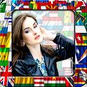 World Flags Photo Frames icon