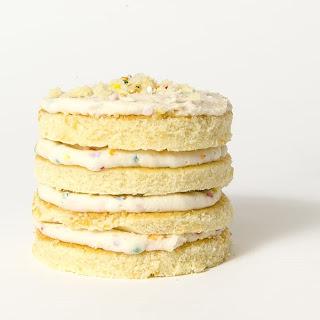 Confetti Pop Mini Cakes.