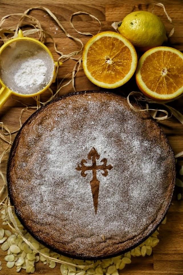 Hiszpańskie ciasto migdałowe
