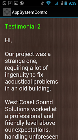 android Sound Solutions Screenshot 4