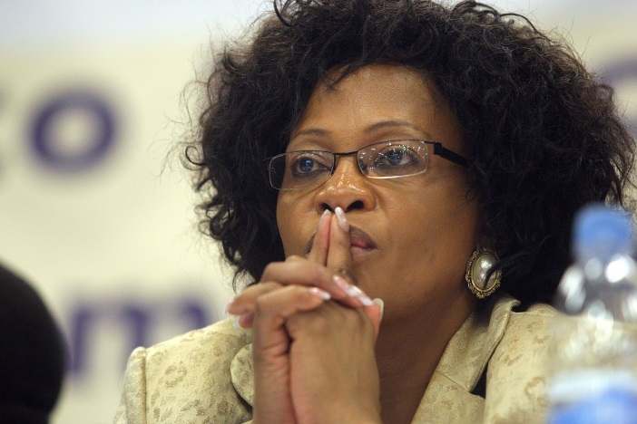 Water and Sanitation Minister Nomvula Mokonyane. Picture: VELI NHLAPO/SOWETAN