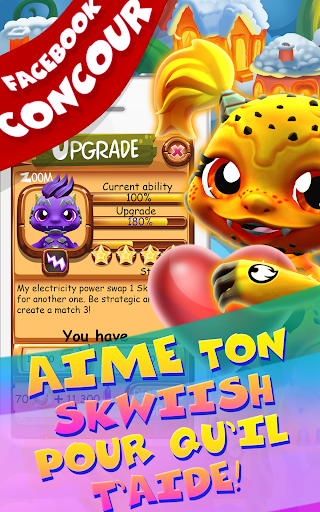 Save Our Skwiish: Charm Heroes A Fun Match 3 Quest  captures d'u00e9cran 16
