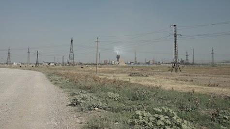 Industriegürtel südlich von Tiflis.