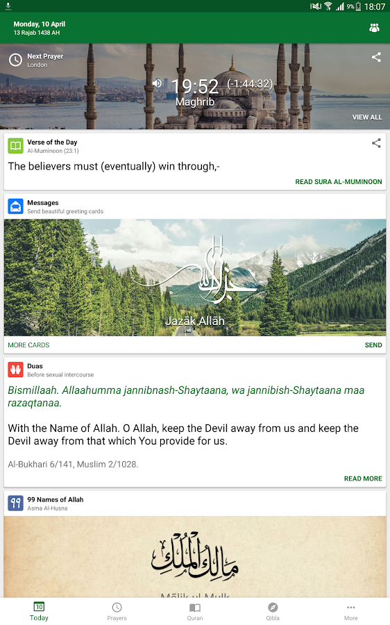 Muslim Pro - Prayer Times, Azan, Quran & Qibla- screenshot