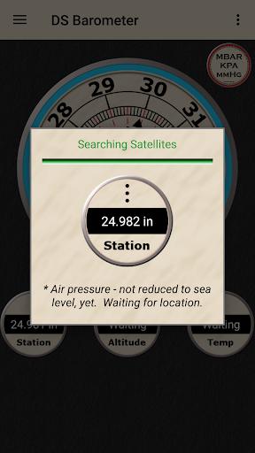 DS Barometer - Altimeter and Weather Information 3.75 screenshots 13