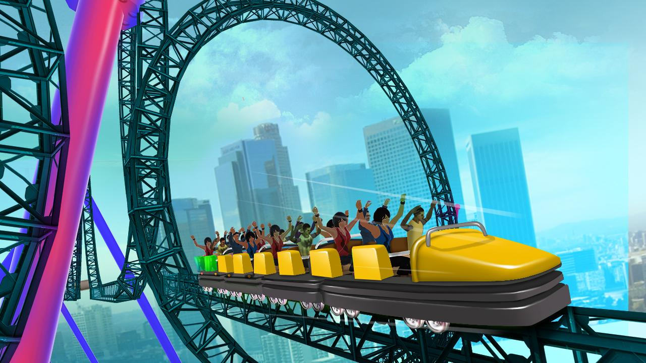 Roller Coaster Simulator 2017- screenshot