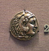 Photo: Alexander Tetradrachme. Mint of Corinth. 220-215 BC