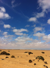 Photo: Sand and an overwhelming sky
