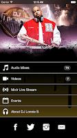 Screenshot of DJ Lonnie B