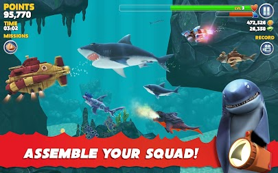 Hungry Shark Evolution APK screenshot thumbnail 23